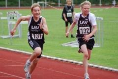 Joost Michaelis (li.) und Til-Kilian Meinke lieferten sich beim Sprint einen tolles Duell.