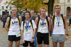 v.l.n.r.: Heino Fiehnen, Carsten Ahlfeld, Thomas Silies, Marco Miltzlaff