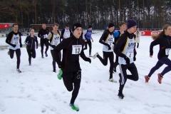 Auch der Start über die 3000m-Distanz erfolgte im Waldstadion.