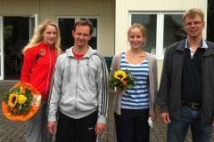 v.l.n.r.: Kelly Vermeer, Rainer Dohrmann, Svenja Bredehöft und Jens Dohrmann