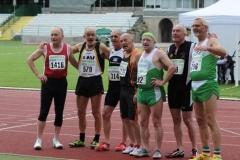 Teilnehmer 100m Finale M60
