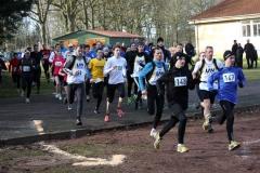 """Dem Pfeil in Laufrichtung folgen"""" galt auch für die Teilnehmenden beim Rennen über die 3460m-Distanz."""