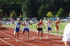 Zieleinlauf 100m Finale M60