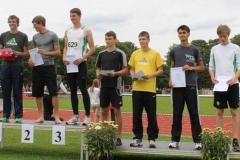 Siegerehrung 200m U20