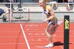 Mareike Schuster Zieleinlauf 100m Hürden