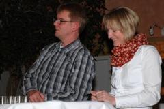 Jens Dohrmann und Kerstin Michaelis nahmen die Ehrungen vor.