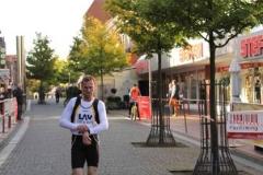 Der Sieger im 5000m Stadtwerkelauf: Andras Müller LAV Zeven