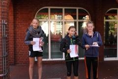 Siegerehrung Schülerinnen 5000m