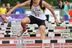 Janik Dohrmann stellt bei den Deutschen Meisterschaften neuen Kreisrekord im Blockwettkampf auf
