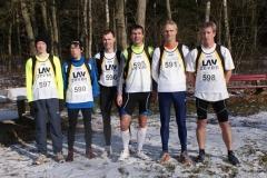 Gruppenfoto: v.l. Bastian Silies, Carsten Ahlfeld, Andreas Müller, Marco Miltzlaff, Heino Fiehnen, Thomas Silies