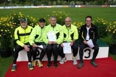Die LAV-Teilnehmer 2013: v.l.n.r.: Friedrich Müller, Hans-Georg Müller, Czeslaw Pradzynski, Helmut Meier und Bernward Schneegans