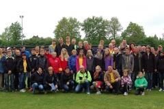 Rund 100 Kampfrichter und Helfer waren am ersten Wettkampftag auf der Sportanlage an der Kanalstraße im Einsatz.