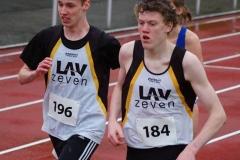 Auch Steffen Meinke (Nr. 196) und Quintus Meyer (Nr. 184) von der LAV Zeven liefen über die 1500m-Distanz.