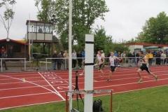 100m Zieleinlauf Männer 18.05.13