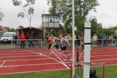 100m Zieleinlauf Männer, Sieger Stefan Schwab, TSV Schwarzenbek