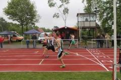 Zieleinlauf 100m Männer