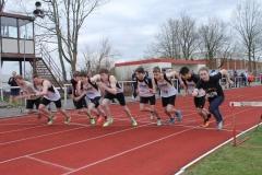 Start 1. Lauf 800m