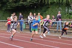 Jette Heinemann (Nr. 245) von der LAV Zeven wurde Kreismeisterin bei den weiblichen Kindern U10 W09.