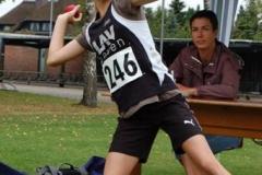 Anna Hilken von der LAV Zeven siegte bei den weiblichen Kindern U12 W11 im Vierkampf.