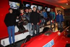 LAV-Leichtathleten bei Ferrari in Maranello