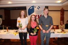 DLV-Gold für Svea Knoop, TSV Bremervörde, Tami Gerken und Nils Michaelis, LAV Zeven