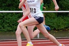 Marilene Doursson (Nr. 913) kam bei der weiblichen Jugend U16 im Vierkampf der W15 mit 1708 Punkten auf den 9. Platz.