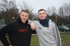 Niels Michaelis zusammen mit Janosch Bieck, TSV Bremervörde