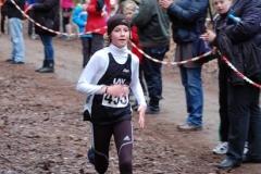 Nele Müller von der LAV Zeven kam in der Gesamtwertung der weiblichen Kinder U12/W11 auf den zweiten Platz