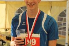 Sieger im 10km Lauf wurde Max Schröter aus Buxtehude