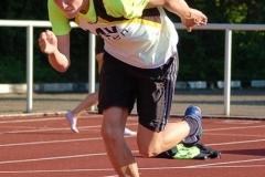 Jost-Ole Fasel sicherte sich zwei Bezirksmeistertitel.