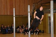 zi06: Den Vorführungen von Barsiders -Mitbegründer Alexander Semrau war das jahrelange Training anzumerken.