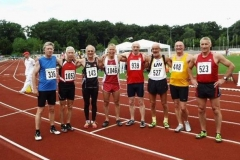 Nach dem Finale 100m M60