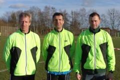 """Mannschaft-Kurz"""" von Links Thomas Silies, Marco Miltzlaff, Andreas Müller"""
