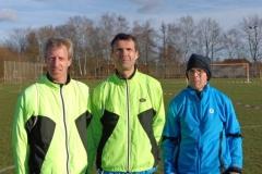 """Mannschaft-Lang"" von Links Thomas Silies, Marco Miltzlaff,, Carsten Ahlfeld"