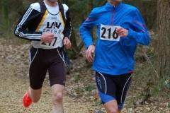 Auch Marco Miltzlaff (Nr. 216) und Andreas Müller (Nr. 217) waren im Großen Holz erfolgreich.