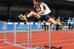 110m Hürden Vorlauf Kevin Lembach LAV Zeven