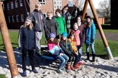 Elf junge Aktive der LAV Zeven nahmen am diesjährigen Frühlingstrainingslager auf der Nordseeinsel Borkum teil.