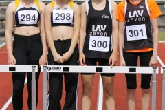 4 x 100 m Staffel WJ U 16 Lena Behrens, Anna Hilken, Marlene Künne, Nele Müller