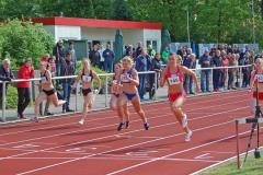 Nadja Käther (Nr. 145, Hamburger SV, 12,10 sec) gewann die 100m der Frauen vor Tracey Schulz (Nr. 249, SC Neubrandenburg, 12,17 sec) und Jonna Holzmann (Nr. 143, Hamburger SV, 12,35 sec).