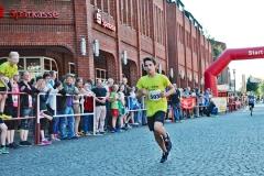 zi14: Den 2,2 km-Schnupperlauf durch den Stadtkern gewann Kanju Fuhst (Gauß-Schule, 9:00 min).