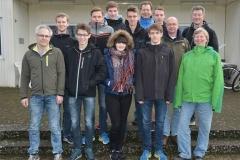 Unter den zwölf Teilnehmenden an der Kampfrichter-Grundausbildung waren auch sieben Jugendliche von der LAV Zeven.