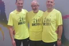Unsere Drei neuen Deutschen Hallen-Seniorenmeister 2016: Andreas Müller 800m M50, Helmut Meier 60m M65 und Czeslaw Pradzynski 60m M55