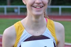 Nele Müller verbesserte bei den Landesmeisterschaften in Verden den Kreisrekord über 100m.