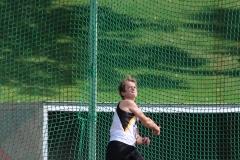 Lasse Willenbrock konnte mit 29,19 m das Diskuswerfen der Jugend M 14 für sich entscheiden.