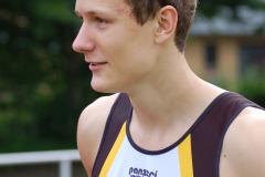 Jost-Ole Fasel, Mitglied der Zevener 4 x 100 m Staffel der U 20.