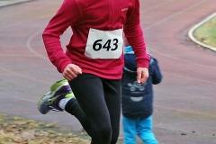 Zi05b: Edda Gert kam bei den Kindern W10 auf den dritten Platz in der Einzelwertung und wurde zusammen mit Paula Itzek und Lara Fitschen Kreismeisterin in der Mannschaftswertung.