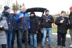Ein paar Teilnehmer am Startpunkt der Kohltour