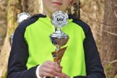 02: Vier Crossläufe, vier Siege. So lautet die Bilanz des klaren Oste-Cup-Gewinners Silas Dreyer von der LAV Zeven.