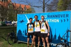 Marcel Frank, Carsten Hülss und Marco Miltzlaff