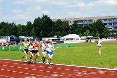 Detlef Wickmann wurde mit einer Zeit von 2:36:64 min Vierter bei der Senioren DM